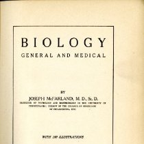 Image of Biology General and Medical, 3rd Edition
