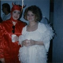 Image of 2017.02 - Two Women at Halloween Party