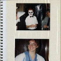 Image of Page 11 of the Delta Omega Halloween Scrapbook