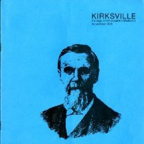 Image of Kirksville College of Osteopathic Medicine, Vol. 3, No. 4
