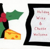 Image of 2017.02 - Holiday Wine and Cheese Welcome Card