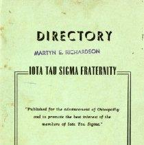 Image of Iota Tau Sigma Fraternity Directory