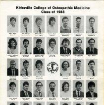 Image of 2017.01 - KCOM Class of 1988 Freshman Class Photos