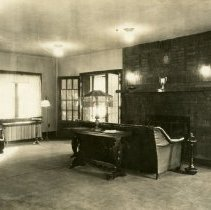Image of Theta Psi Fraternity Living Room