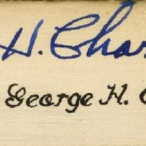 Image of 1997.42 - Judge George H. Charno Senior Banquet Placecard