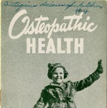 Image of 2009.65 - Osteopathic Health: Contagious Diseases in Children