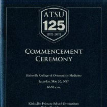Image of 2017.21 - KCOM Class of 2017 Graduation Program