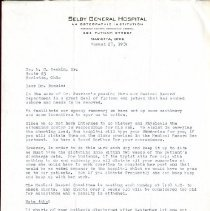 Image of 2017.38 - Letter to William Rankin from Jeannette Snyder