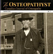 Image of 2017.28 - The Osteopathyst, Canadian Journal of Osteopathy, No. 7