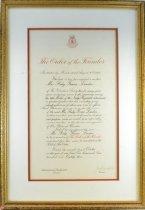 Image of 1999.0068.01 - Certificate, Achievement