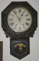 Image of Face of clock - in exhibit