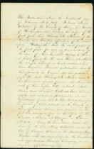 Image of Alvord deed, 1859