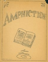 Image of Amphictyon Club Yearbook, 1959-1960