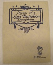 Image of Rhymes of a Lost Battalion Doughboy - Booklet