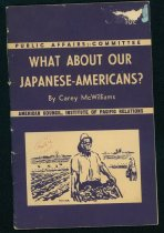 Image of What about our Japanese Americans? - Booklet