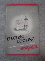 Image of Electric Cooking: The Key to Modern Living, by Hotpoint - Book