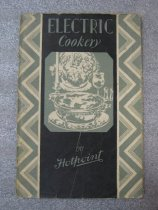 Image of Electric Cookery by Hotpoint - Book