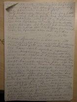Image of Letter to Gustav [Bengtsson?] - Letter