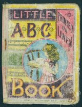 Image of Little ABC Book, Printed on Linen - Book