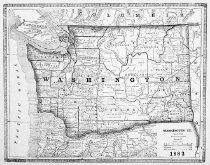 Image of Washington Territory  - Map