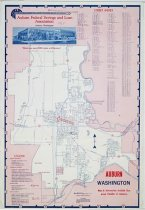 Image of Street Map, Auburn  - Map