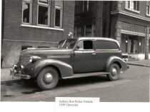 Image of Auburn's First Police Car - Print, Photographic