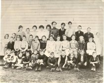 Image of Pialschie School Students and Teacher - Print, Photographic