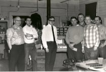 Image of NPRy Auburn Yard employees, 4 pm-midnight shift - Print, Photographic