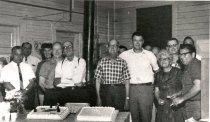Image of NPRy Auburn Yard employees, day shift - Print, Photographic