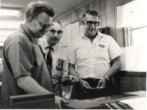 Image of NPRy Auburn Yard employees - Print, Photographic