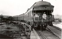 Image of Northern Pacific Passenger Train - Print, Photographic