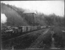 Image of Manley Moore Lumber Company Train - Print, Photographic