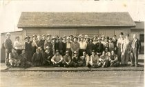 Image of Northern Pacific Railway Section Foreman and Crew - Print, Photographic