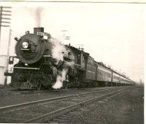 Image of Casey Jones Special Run of Northern Pacific Railway Steam-Powered Passenger Train - Print, Photographic
