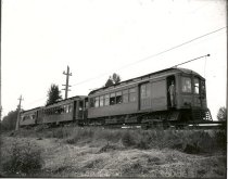 Image of Puget Sound Electric Railway Passenger Train - Print, Photographic