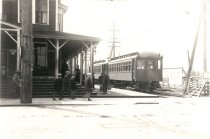 Image of Puget Sound Electric Railway Depot - Print, Photographic