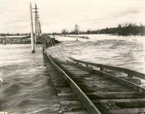 Image of Flooded Interurban Tracks - Print, Photographic