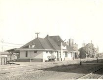 Image of Northern Pacific Railway Depot - Print, Photographic