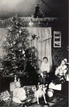Image of Bender Children at Christmas - Print, Photographic