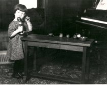 Image of Girl with Toys - Print, Photographic