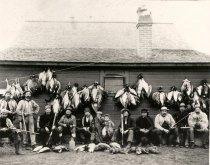 Image of Goose Hunters at Horse Heaven Hills - Print, Photographic