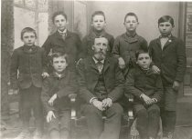 Image of J. J. Gilmore's Sunday School Class - Print, Photographic