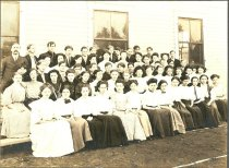 Image of Central School Students - Print, Photographic