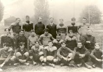 Image of Central School Football Team - Print, Photographic