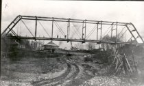 Image of White River Bridge, Looking North - Print, Photographic