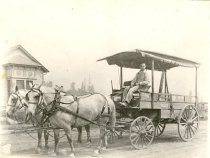 Image of Cavanaugh Delivery Wagon - Print, Photographic