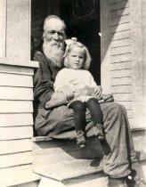Image of Oscar Blomeen with Lela - Print, Photographic