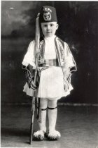 Image of Connie Malesis in Greek dress - Print, Photographic