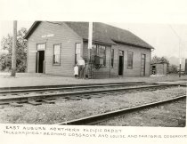 Image of East Auburn Depot - Print, Photographic