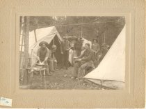 Image of Alaska Gold Miners' Camp - Print, Photographic